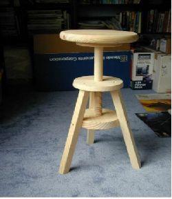 adjustable wood stool & Adjustable Wood Stool PDF Woodworking islam-shia.org